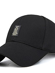 cheap -Men's Cotton Baseball Cap - Solid Colored Printing Printing