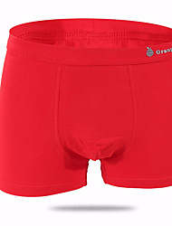 cheap -Boys' Solid All Seasons Underwear, Cotton Red