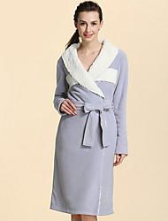 Недорогие -Свежий стиль Банный халат, Разные цвета Высшее качество Полиэстер/Хлопок Комбинирование ткани (полиэфир/хлопчатник) Полотенце