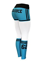 baratos -Mulheres Shorts de Corrida Secagem Rápida, Esticar, Respirabilidade Calças Corrida Fibra Sintética Branco / Preto / Azul S / M / L