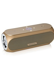 abordables -H19 Speaker Bluetooth Bluetooth 4.2 Audio (3.5mm) Caisson de Graves Or Noir Argent Bleu