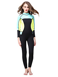 cheap -HISEA® Women's Wetsuits Anti-Eradiation Neoprene Diving Suit Long Sleeve Diving Suits-Swimming Diving Surfing SailingSpring Summer