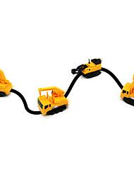 cheap -Magic Inductive Car Toy Car Truck Construction Vehicle Toys Car Special Designed Light Sensor Parent-Child Interaction Soft Plastic 1pcs