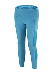 abordables -Femme Pantalons de Course Respirabilité Pantalon / Surpantalon Course / Running Polyester, Spandex Bleu S / M / L