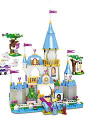 Недорогие -Конструкторы мифология Взаимодействие родителей и детей утонченный Аниме Сказка Архитектура Девочки Мальчики Игрушки Подарок