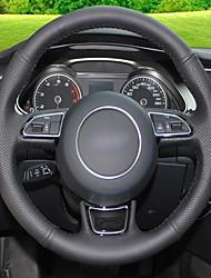 Недорогие -автомобильные крышки рулевого колеса (кожа) для audi a1