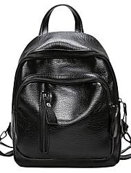 preiswerte -Damen Taschen PU Polyester Reißverschluss für Normal Ganzjährig Schwarz
