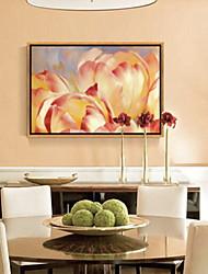 abordables -Botanique Illustration Art mural,Alliage d'aluminium Matériel Avec Cadre For Décoration d'intérieur Cadre Art Chambre à coucher