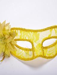 economico -Maschera veneziana / Maschera mascherata Classico Rosso / Blu / Bianco Plastica Accessori Cosplay Mascherata