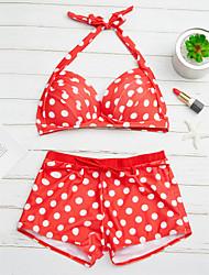 cheap -Women's Bikini - Polka Dot, Polka Dots Pant
