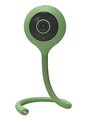 cheap -VESKYS 1.0 MP Indoor with IR-cut 128(Built-in speaker Built-in Microphone Day Night Motion Detection Remote Access) IP Camera