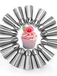 Недорогие -Инструменты для выпечки Алюминиевые сплавы Инструмент выпечки Торты / Для приготовления пищи Посуда / Для торта Формы для пирожных 14pcs
