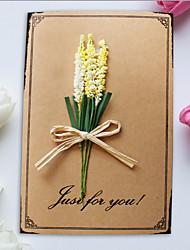 abordables -Pli Parallèle Vertical Invitations de mariage 1pc - Merci Cartes Cartes de la Fête des Mères Cartons d'Invitation Pour 'Baptême' Cartons
