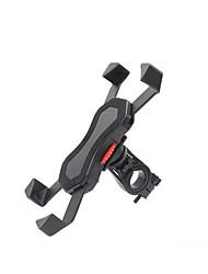 economico -Moto Bicicletta Cellulare supporto base Supporto regolabile Cellulare Tipo di fibbia Antiscivolo policarbonato Titolare