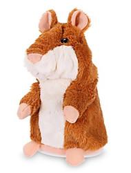Недорогие -Мышь Животный принт Мягкие и плюшевые игрушки Животные Стресс и тревога помощи утонченный Милый Плетеная ткань Подарок 1pcs