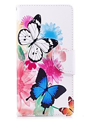 cheap -Case For Sony Xperia XZ Premium Xperia XZ1 K8 Note Card Holder Wallet with Stand Flip Magnetic Full Body Cases Butterfly Hard PU Leather