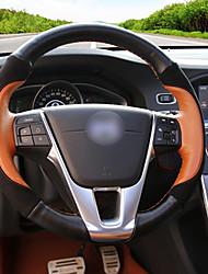 Недорогие -автомобильные крышки рулевого колеса (кожа) для volvo все годы s60l s80l v40 v60 xc60