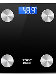 preiswerte -Bluetooth / LCD / Skala Yoga / Übung & Fitness Bluetooth 4.0 Weiß / Schwarz / Fuchsia