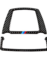 cheap -Automotive Reading Light Covers DIY Car Interiors For BMW 2011 2012 2013 2014 2015 2016 2017 5 Series Carbon Fiber