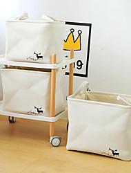 Недорогие -модели взрыва внешней торговли ящик для хранения, толстый ящик для хранения холста, нордический стиль