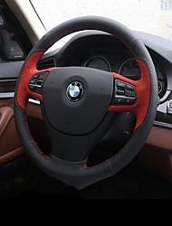 economico -Copristerzo per auto vera pelle Rosso / Blu For BMW X3 / X5 / Serie 3 Tutti gli anni