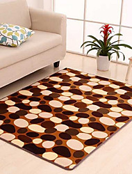 cheap -Creative Modern Poly/Cotton,Superior Quality Rectangular Mixed Color Rug