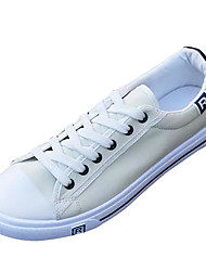 cheap -Men's Shoes PU Winter Fall Comfort Sneakers for Casual White Black Blue