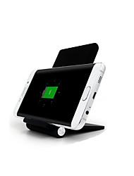 Недорогие -Беспроводное зарядное устройство Телефон USB-зарядное устройство USB Беспроводное зарядное устройство 1 USB порт 1A iPhone X iPhone 8
