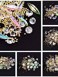 cheap -Outfits Rhinestones Crystal Nail Glitter Fashion High Quality Daily Sets