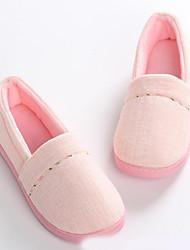 Недорогие -Удобная обувь Домашние тапки Женские тапочки Полиэфир Полиэстер