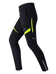 cheap -WOSAWE Unisex Cycling Tights / Cycling Pants Bike Bottoms Quick Dry Classic Polyester, Spandex Black / Red / Green / Black Bike Wear
