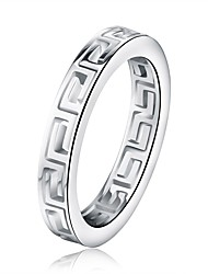 cheap -Men's Women's Band Rings European Rock Stainless Steel Irregular Jewelry Bar Street