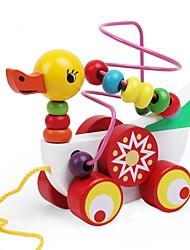 Недорогие -3D пазлы Животные Классика Сбрасывает СДВГ, СДВГ, Беспокойство, Аутизм Взаимодействие родителей и детей деревянный Милый Детские Подарок