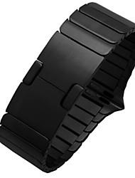 economico -Cinturino per orologio  per Apple Watch Series 3 / 2 / 1 Apple Chiusura classica Acciaio Custodia con cinturino a strappo