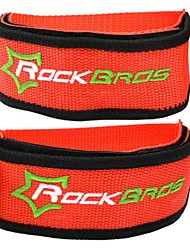 Недорогие -Педали Защита на шипы Фиксирующий шнурок Прочный Простота установки Нейлон для Велоспорт Шоссейный велосипед Горный велосипед Велосипедный мотокросс Оранжевый