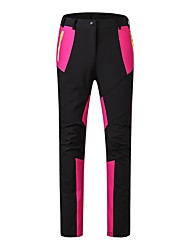 cheap -Women's Ski / Snow Pants Warm Waterproof Windproof Wearable Antistatic Breathability Snow Sports Velvet Chiffon