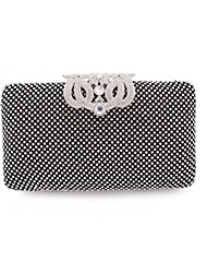 cheap -Women's Bags Glasses / Metal Clutch Sequin for Event / Party / Shopping Gold / Black / Silver