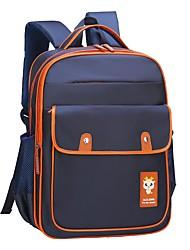baratos -Crianças Bolsas Fibra Sintética mochila Ziper para Casual Todas as Estações Khaki Azul Real