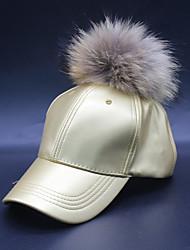 cheap -Women's PU Ski Hat Sun Hat Baseball Cap - Solid Colored Stylish