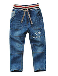 cheap -Boys' Solid Jeans Winter Fall Light Blue