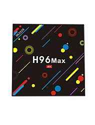 economico -H96 Max TV Box Android 7.1 TV Box RK3328 Quad-Core 64bit Cortex-A53 4GB RAM 32GB ROM Quad Core