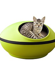 cheap -Cat Bed Houses Pet Mats & Pads Solid Keep Warm Soft Easy to Install Durable Adjustable Flexible Casual/Daily Coffee Green Camouflage