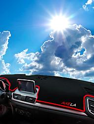 Недорогие -автомобильный Маска для приборной панели Коврики на приборную панель Назначение Mazda Все года Axela