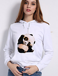 cheap -Women's Classic & Timeless Hoodie - Multi Color, Print
