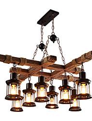preiswerte -Rustikal/ Ländlich Landhaus Stil Ministil Pendelleuchten Moonlight Für Shops/ Cafés 110-120V 220-240V Glühbirne nicht inklusive