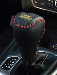 Недорогие -Крышка рулевой колонки автомобиля (кожа) для джипа 2016 cherokee