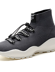 cheap -Men's Shoes Knit Spring Fall Comfort Sneakers for Casual Outdoor Red Gray Black