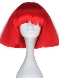 Недорогие -Парики для Лолиты Косплэй парики Лолита Красный Прицесса Парики для Лолиты 29 дюймовый Косплэй парики Halloween Парики Хэллоуин парики