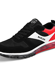 preiswerte -Unisex Schuhe Tüll Frühling Komfort Sneakers für Normal Draussen Blau Schwarz/Rot Königsblau