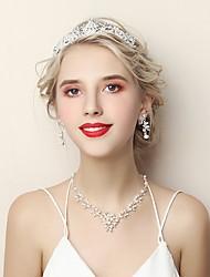 Недорогие -Жен. Комплект ювелирных изделий - Мода Включают Белый Назначение Свадьба День рождения